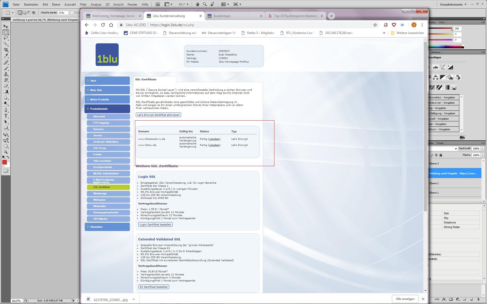 Bei Eingabe Https Erfolgt Eine Böse Browser Meldung Nicht